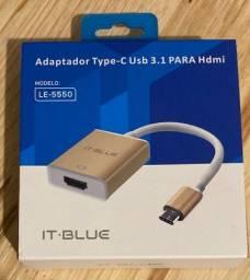 Adaptador USB tipo C para HDMI