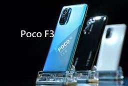 Poco f3 128gb+6 5G Preto/Azul