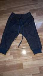 Limda calça jeans saruel  masculina para bb.