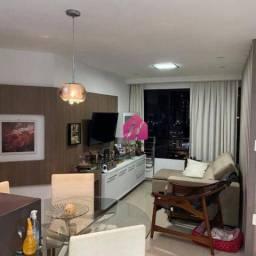 Apartamento com 2 dormitórios para alugar, 58 m² por R$ 1.800,00/mês - Tirol - Natal/RN