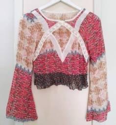 blusa boho p