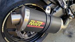Escapamento esportivo para moto 1000cc