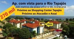 Vendo melhor Apart.no Praia Ville Residencial, 2 quartos+1 suíte, 76m², bairro Maracanã