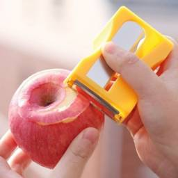Título do anúncio: Descascador cortador e fatiador de frutas e legumes modelo apontador