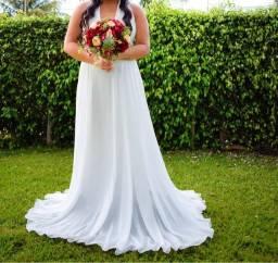 Vestido de casamento no civil