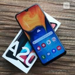 Samsung A20 32gb faço a entrega aceito cartão