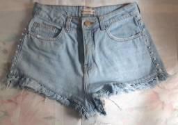 Short jeans feminino tam. 36