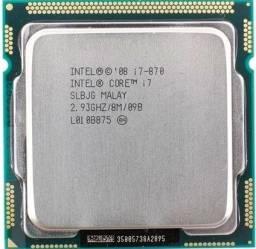 Processador Gamer Intel Core I7-870 4 Núcleos 2.93ghz