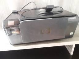 Impressora HP retirar peças