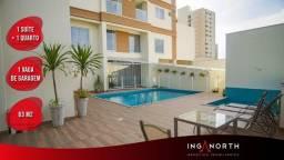 Apartamento com 2 dormitórios à venda, 63 m² por R$ 400.000 - Tabuleiro dos Oliveiras - It