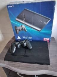 PS3 Slim desbloqueado 250 gigas