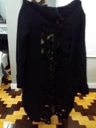 Casaco Feminino de tricot em Lã.