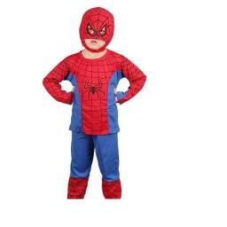Fantasia Homem Aranha Infantil novo
