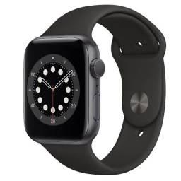 Apple Watch Série 6 44mm Preto Novo Lacrado