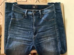 Short e calça jeans importado