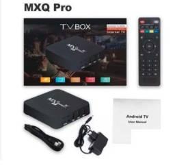 TV Box Smart 4K Pro 64GB Wi-Fi Android 10.1