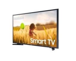 "TV samsung 40"" smart TV / FullHD,  acompanha controle."