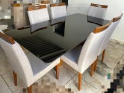 Mesa de jantar laka Black (Nova Lacrada) Madeira Maciça !!