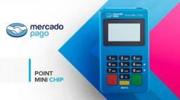 Maquininha Point Mini Chip MercadoPago - Maquinetas De Cartão Sem Celular