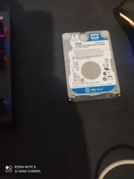 HD de notebook 500gb funcionando