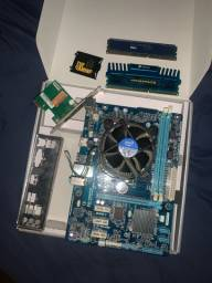 KIT PLACA MAE UPGRADE i5 3570k + Memória ram 12gb 1600Mhz + placa de rede tp link