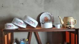 Vasilhas de esmaltes