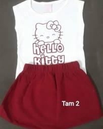 Kit roupa infantil tamanho 2