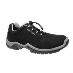Sapato estival preto e cinza n 43