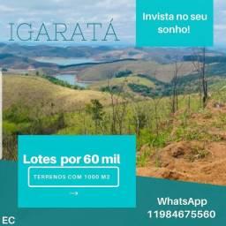 EC Terreno 1000m² em Igaratá