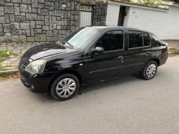 Clio sedan 2006 completo e segundo dono.