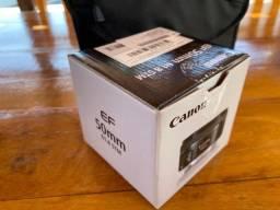 Lente Canon EF 50mm f1.8