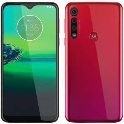 Motorola G8 , cor vermelha