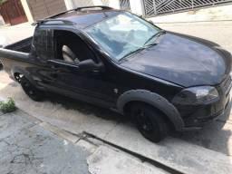Fiat strada 2013 preta 1.4 working ce 8v flex 2p - otimo estado.