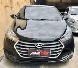 Hyundai HB20 Comfort 1.0 2017 Preto Manual Flex + Gnv