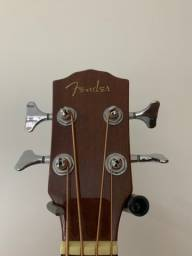 Baixolão Fender 4 cordas + hardcase