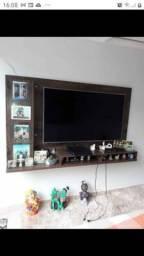painel para TV, persiana e cortina com varão