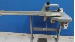 Máquina de ombro a ombro e máquina de cortar viés