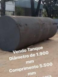 Tanque de aço carbono