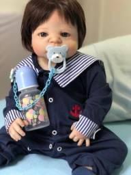 Boneca Bebê reborn menino