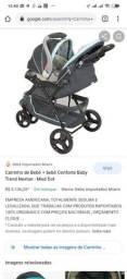 Carrinho + bebê conforto Baby trend