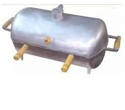 Churrasqueira Grande A Bafo Em Alumínio Fundido