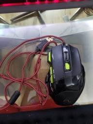 Mouse Gamer | 2400DPI | C/ QuickFire | Verde | Multilaser |