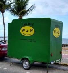 Vendo trailer loja