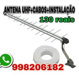 Antena externa (instalada)
