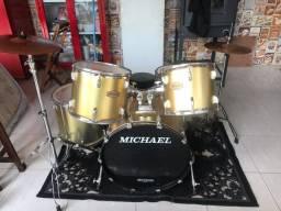 Bateria Michael + Pedal Duplo