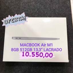 MacBook Air M1 8gb 512gb 13,3 polegadas LACRADO