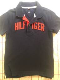 Camiseta pólo infantil Tommy Hilfiger Original TAM 6