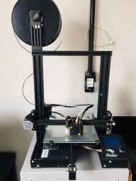 Impressora 3D - Ender * Com filamentos