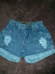 Título do anúncio: Short jeans mom