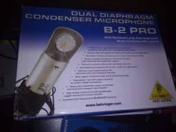 Microfone condensador Behringer b2 pro novo